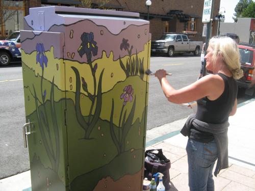 Utility Box Painting