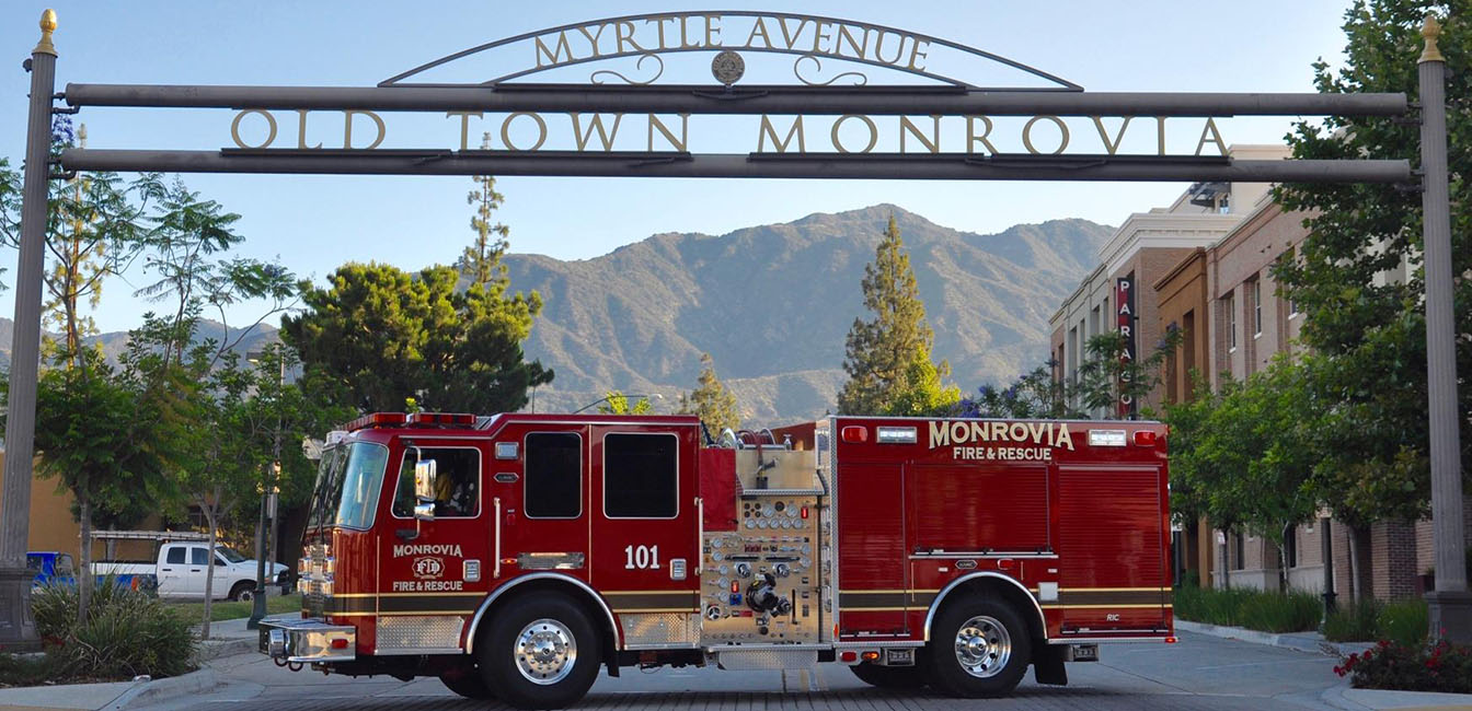 Monrovia Fire Rescue City Of Monrovia