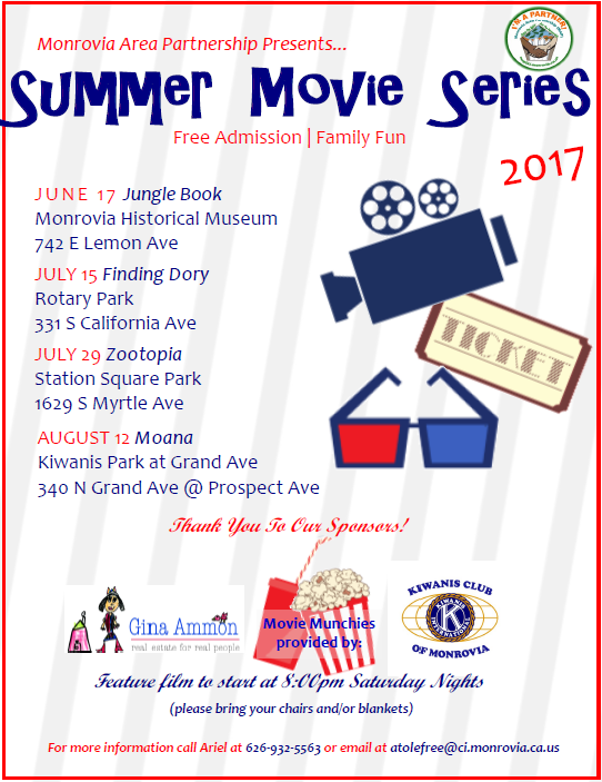 MAP Summer Movie Nights