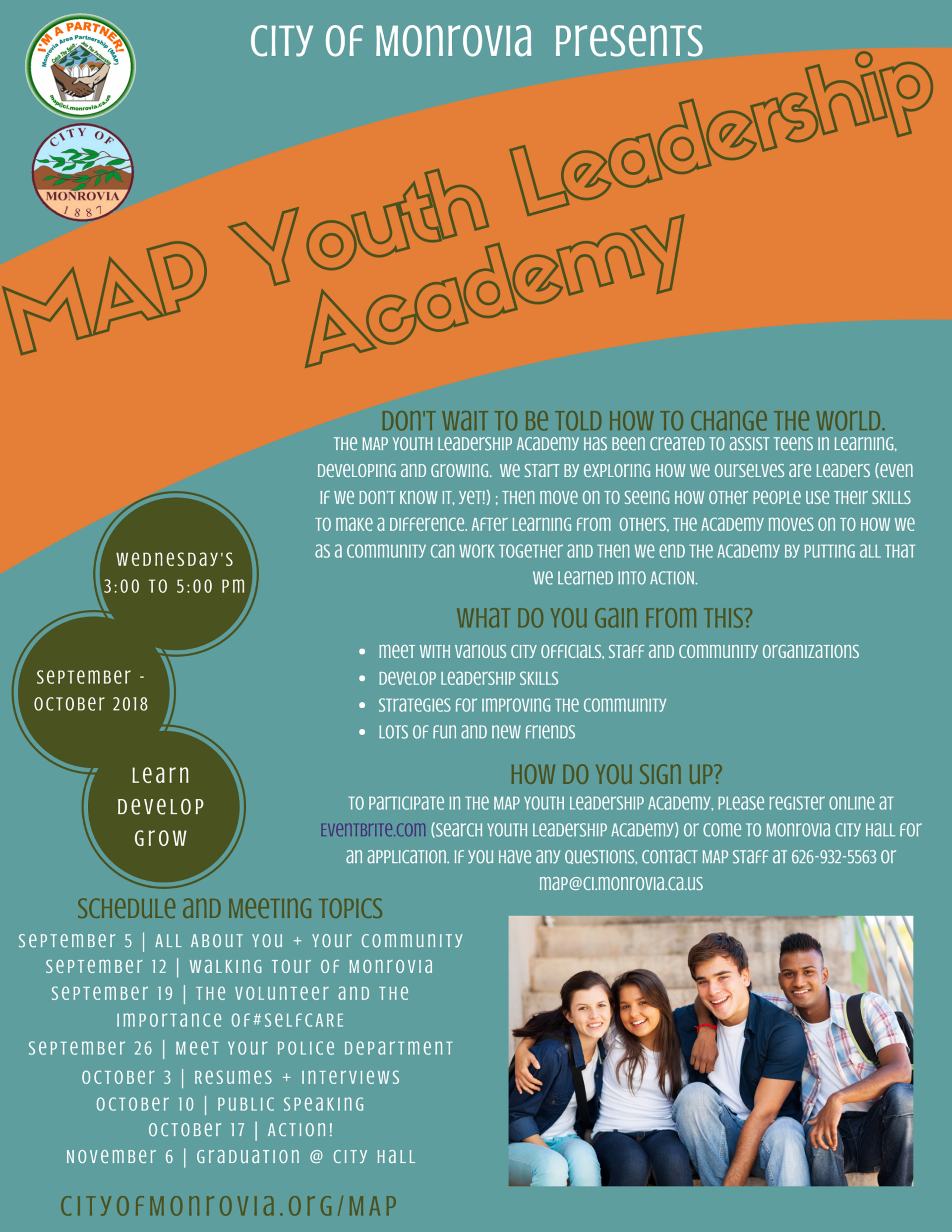 Youth Leadership Academy 2018-2019