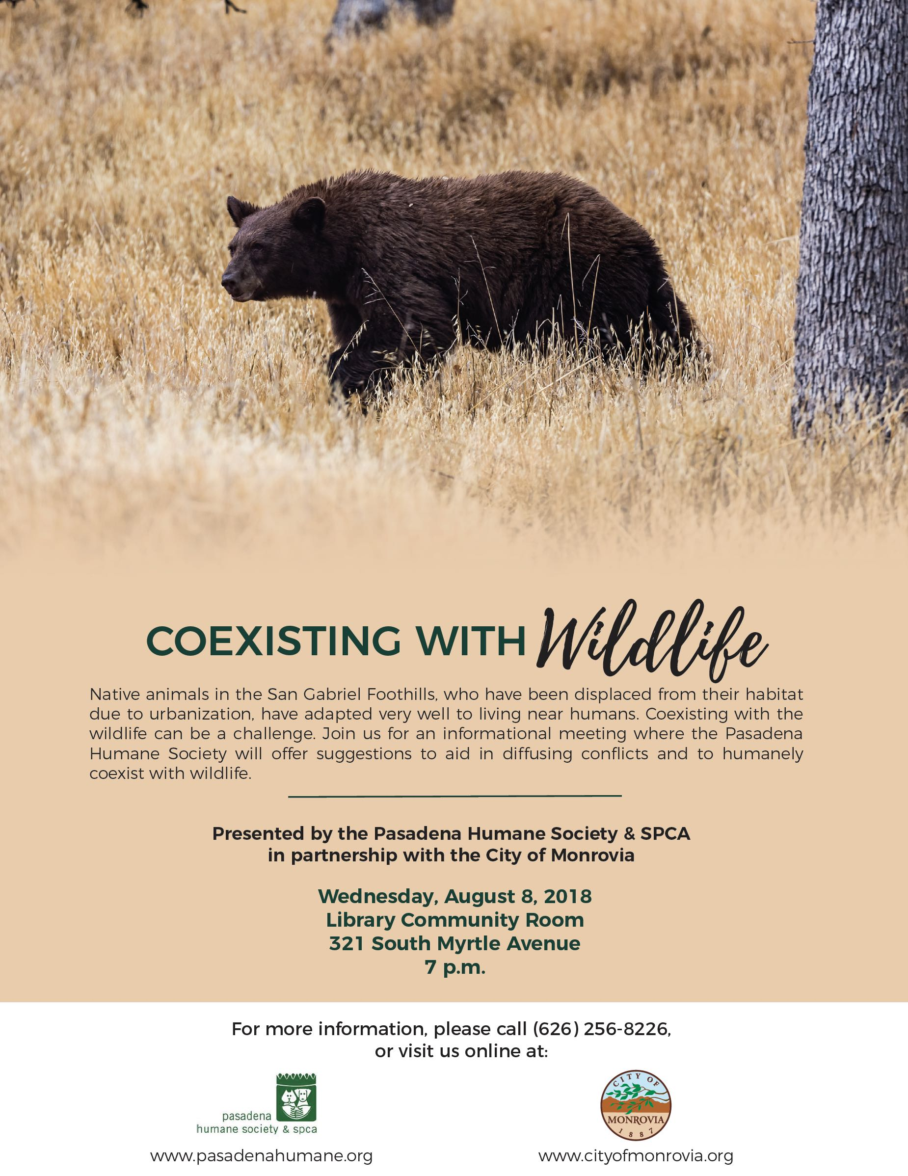Wildlife Community Meeting