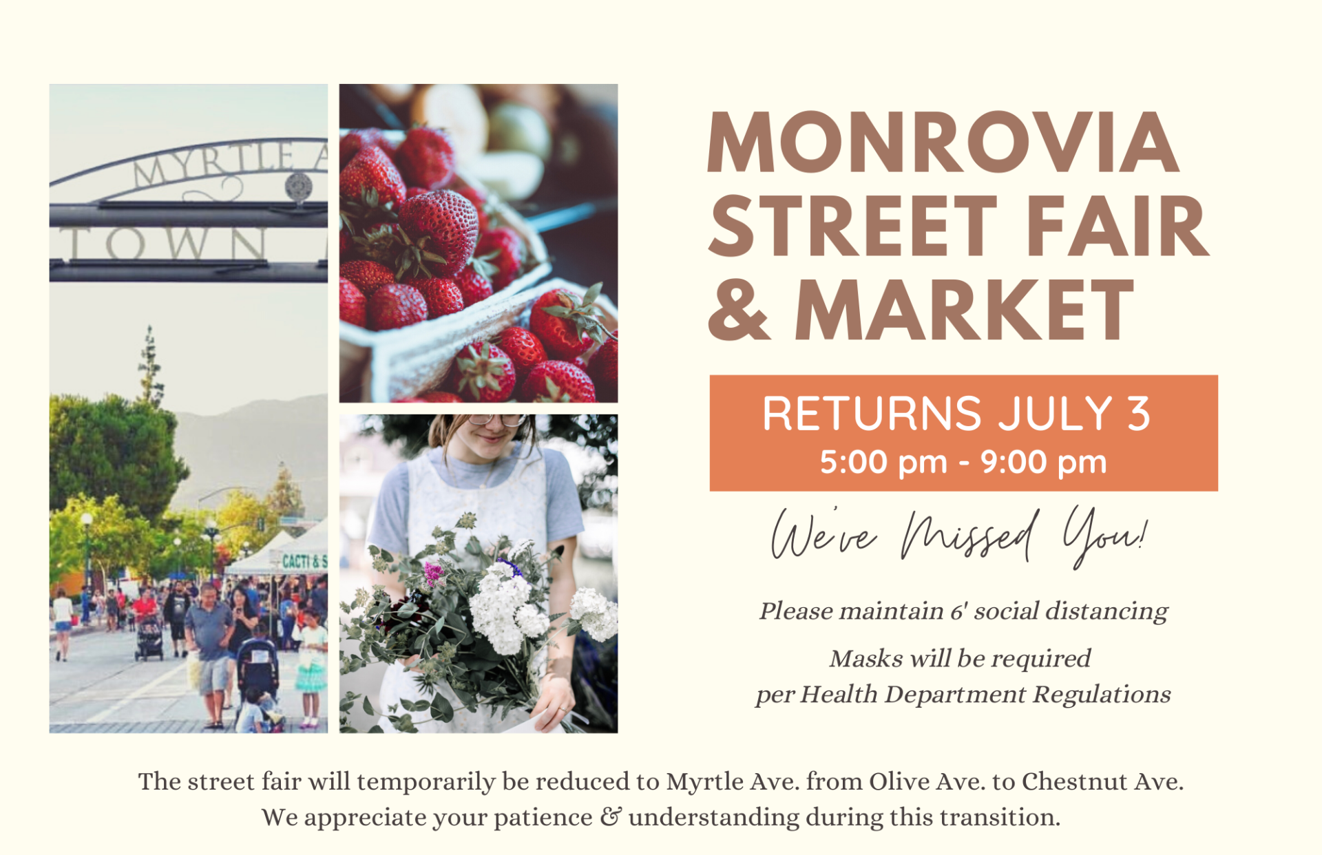 Monrovia July 3 Announcement