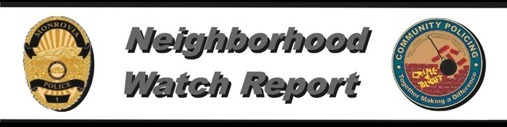 Neighborhood Watch Report Logo