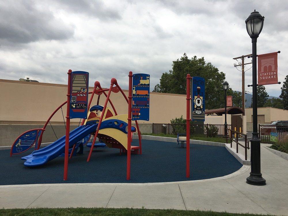 Station Square Park Playground