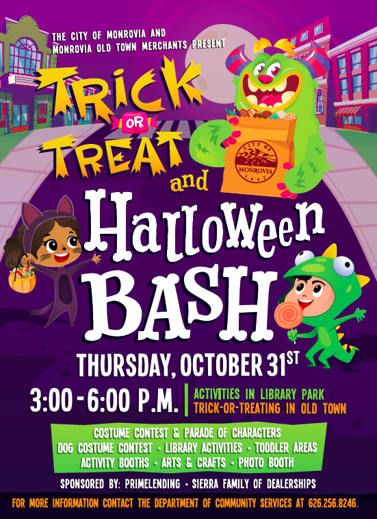 2019 Trick-or-Treat & Halloween Bash