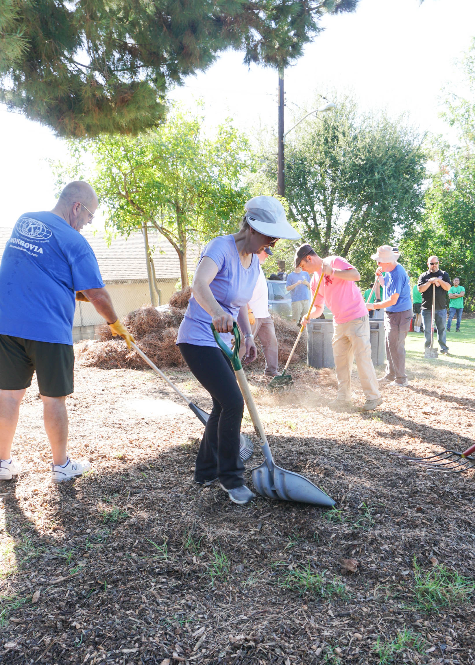 Mayor Pro Tem Becky Shevlin Participated in Make a Difference Day