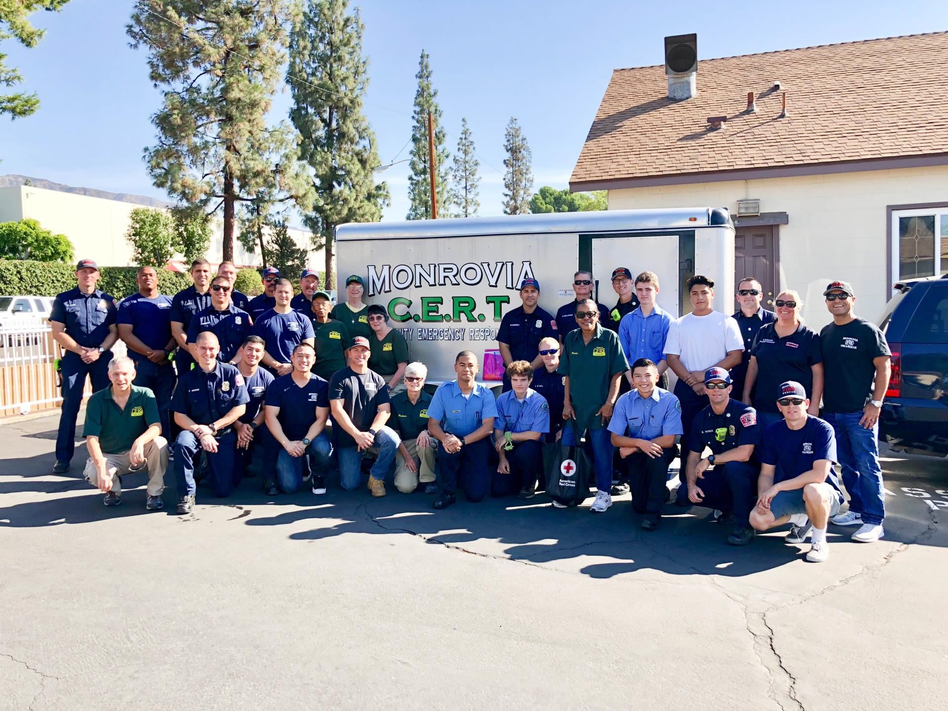 Monrovia Fire Department Installed Smoke Detectors