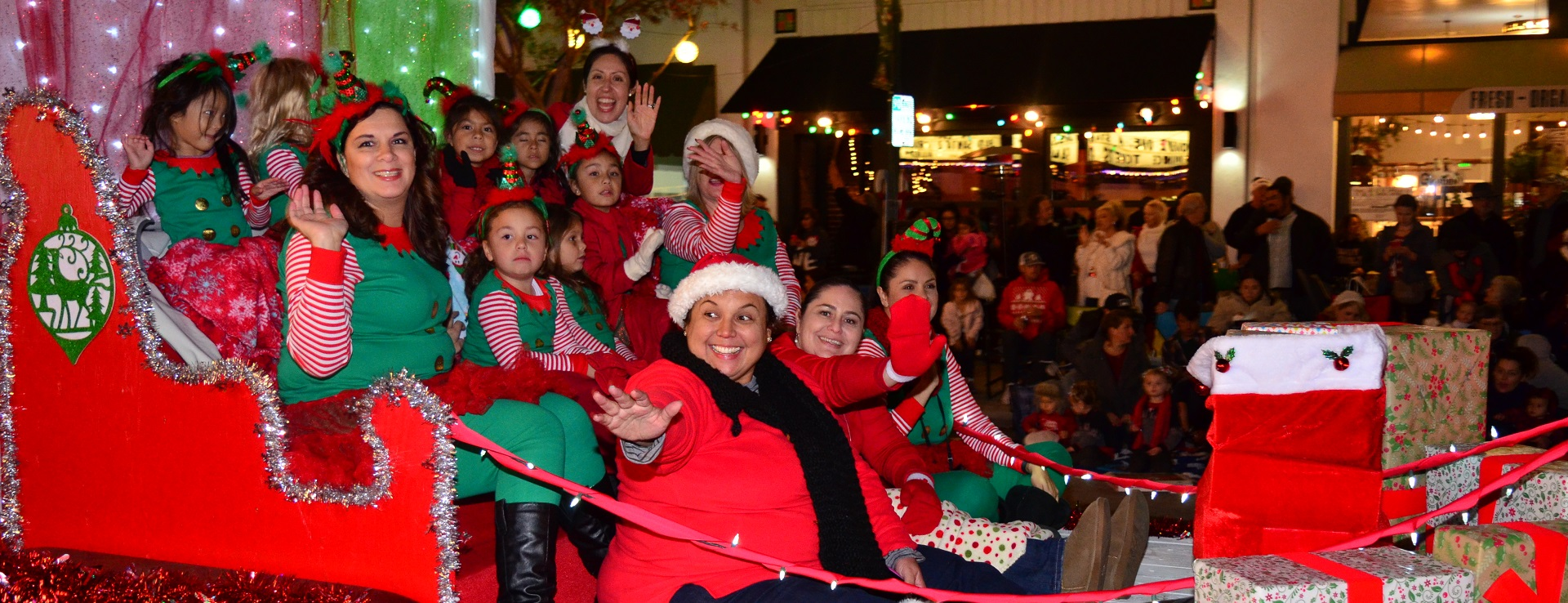 Holiday Parade in Old Town Monrovia