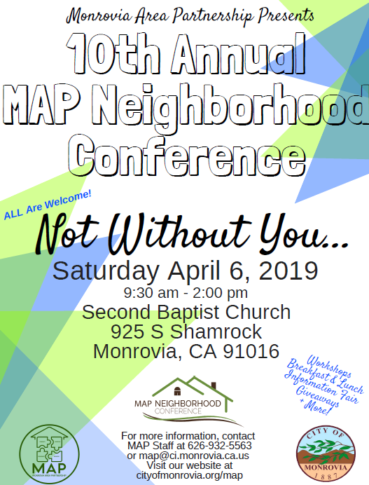 Neighborhood Conference Flyer