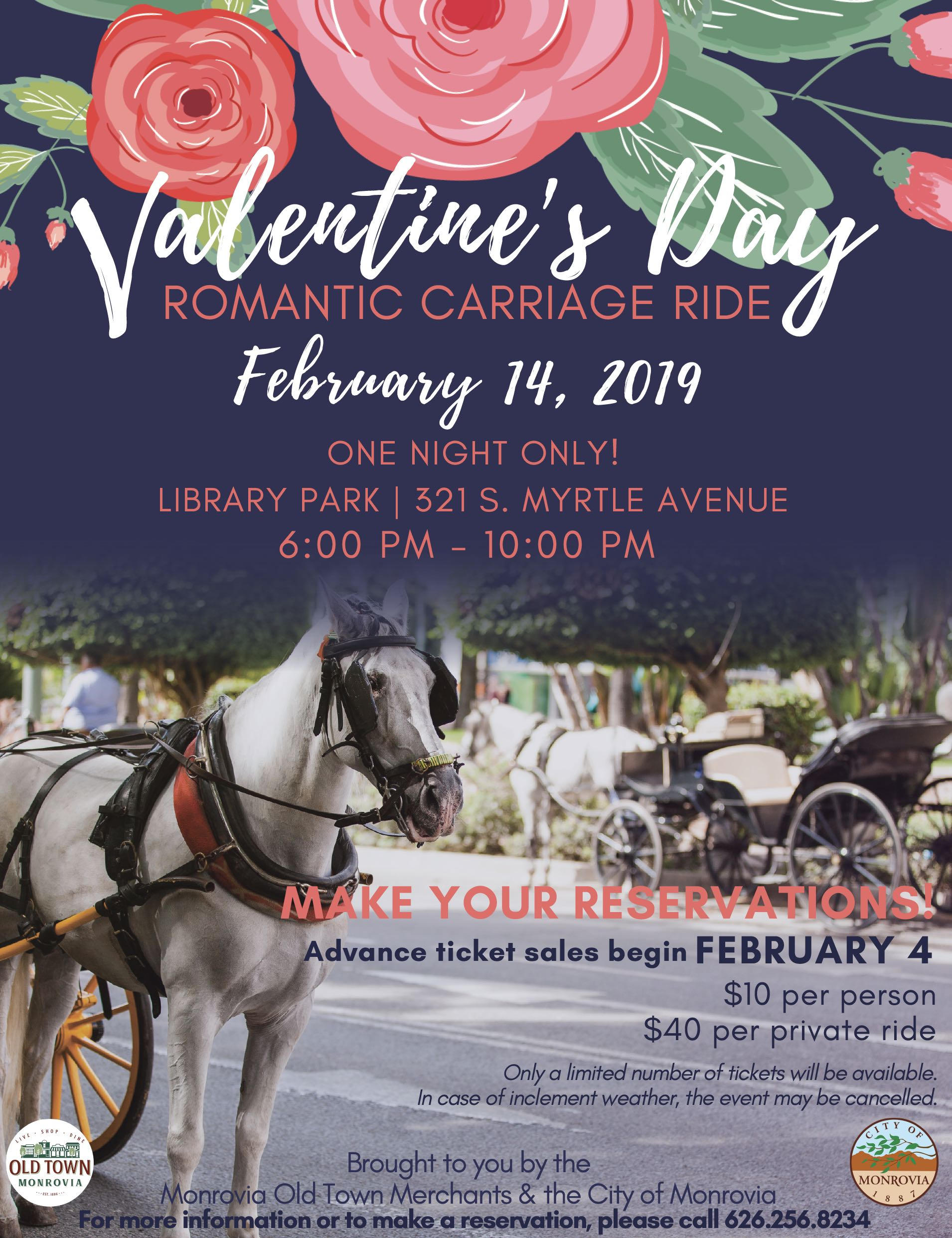 2019 Valentine's Day Carriage Rides