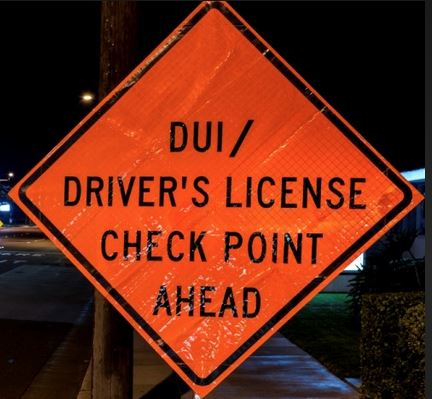 DUI and Driver's License Checkpoint 2