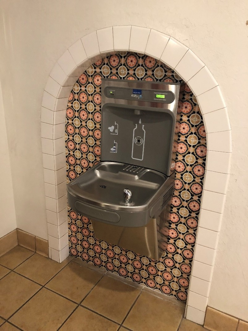 Water Bottle Station