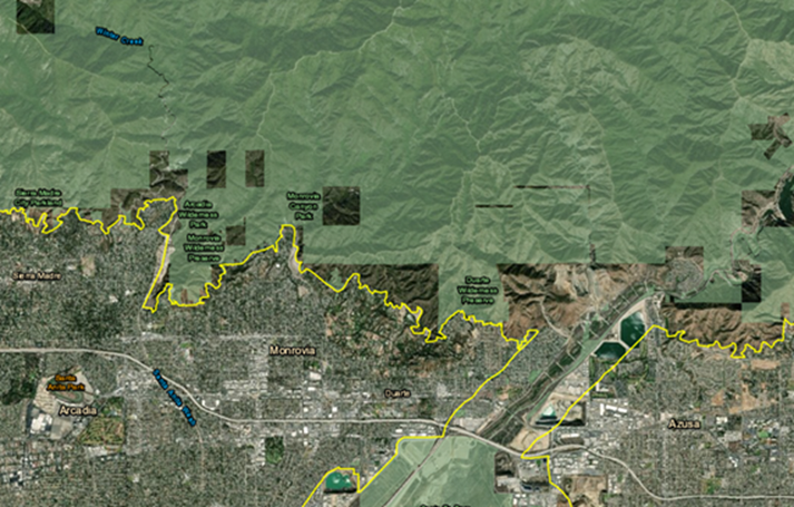 NRA Proposed Overlaid Monrovia