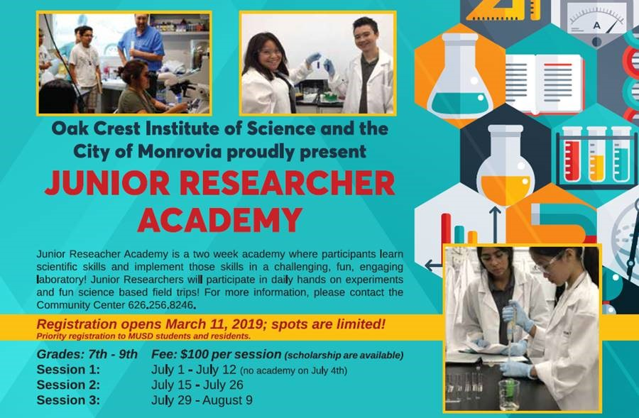 Junior Research Academy 2019
