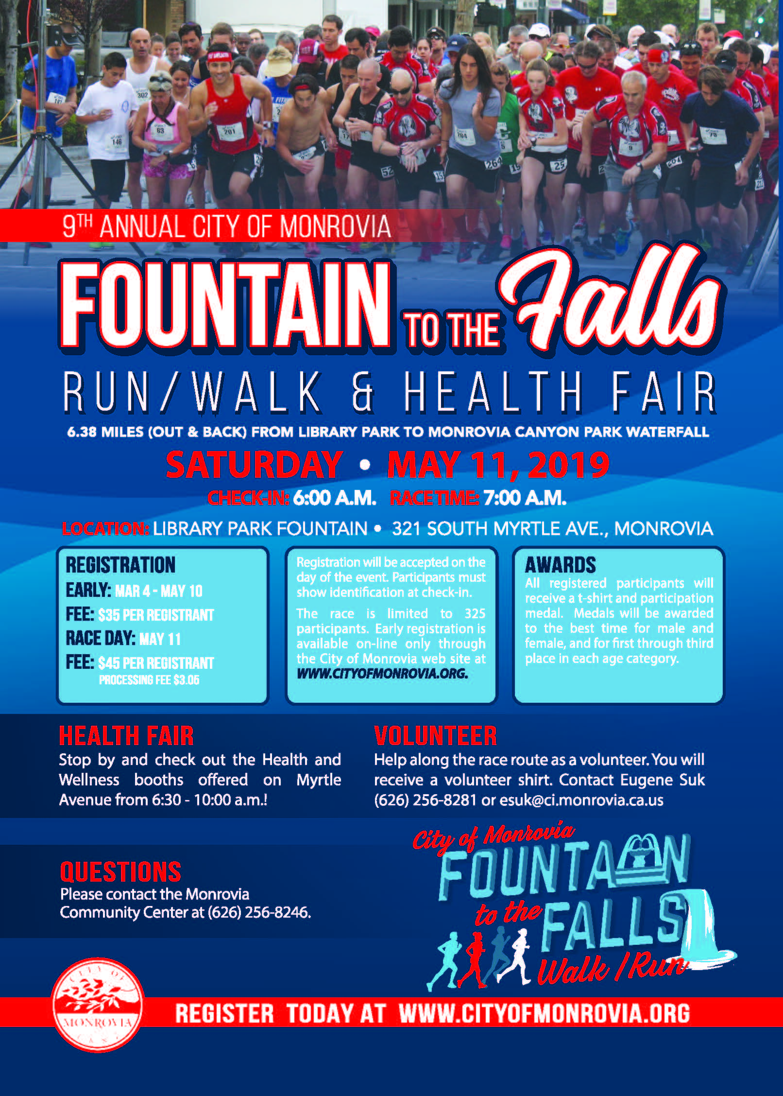 2019 Fountain to the Falls Flyer