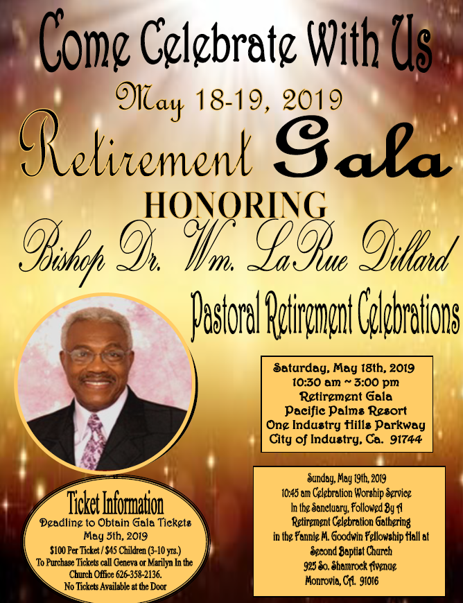 Bishop Dillon Retirement Gala