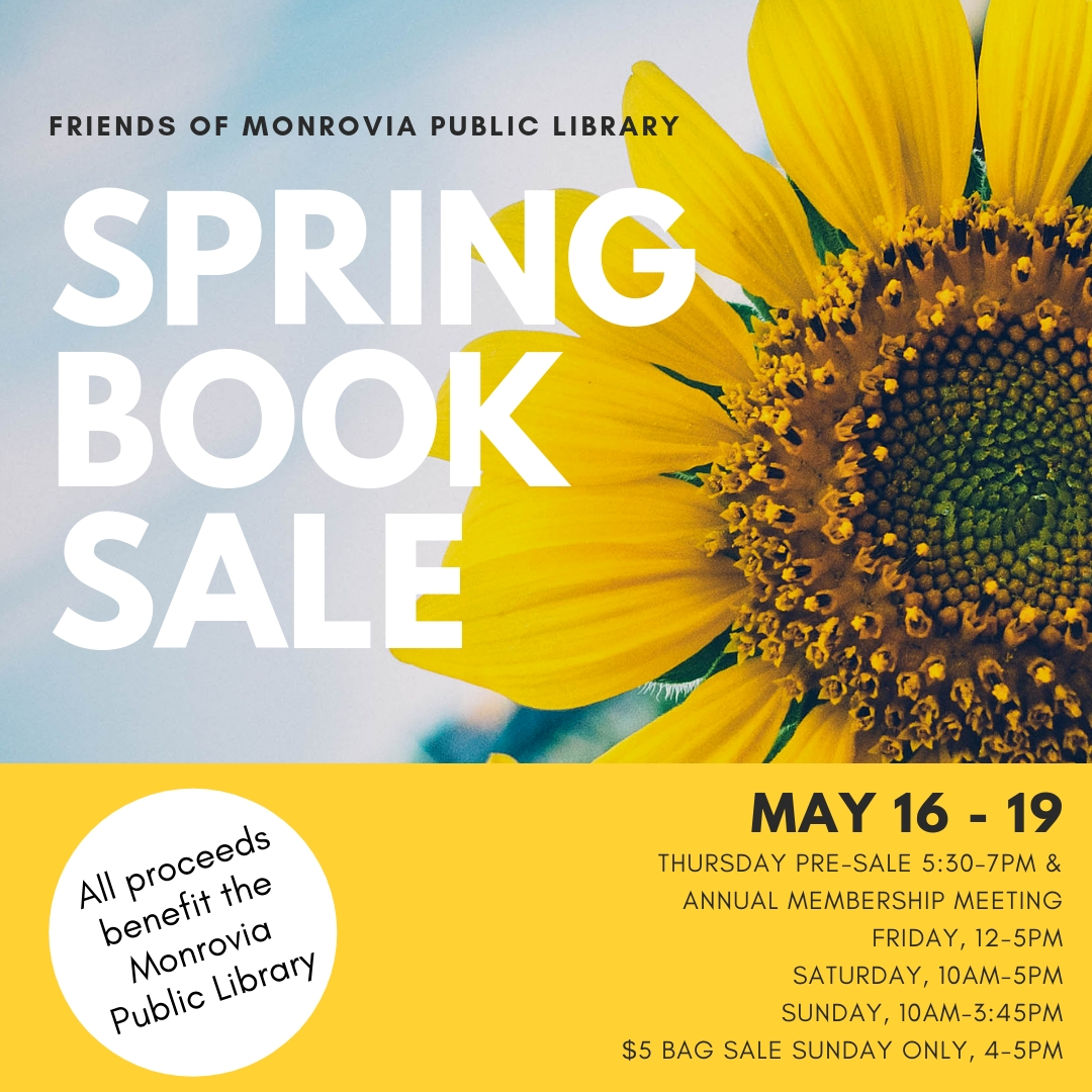 Friends Spring Book Sale 2019