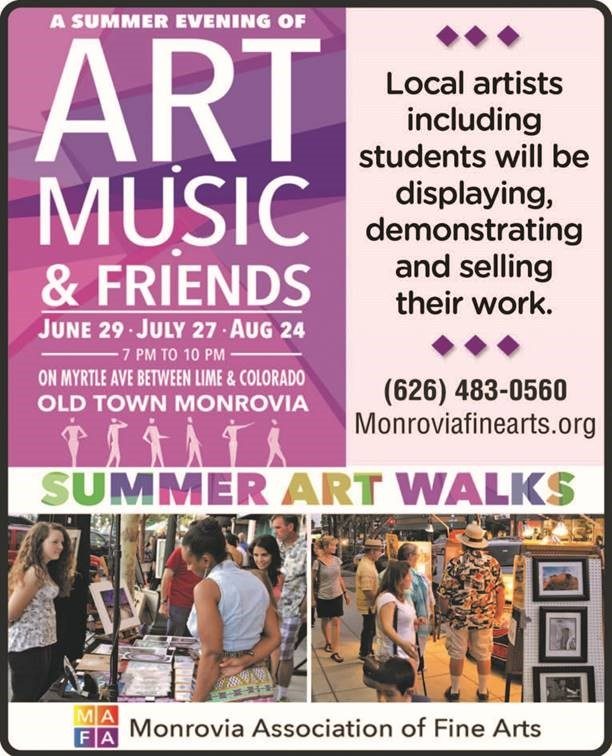 MAFA Summer Art Walks