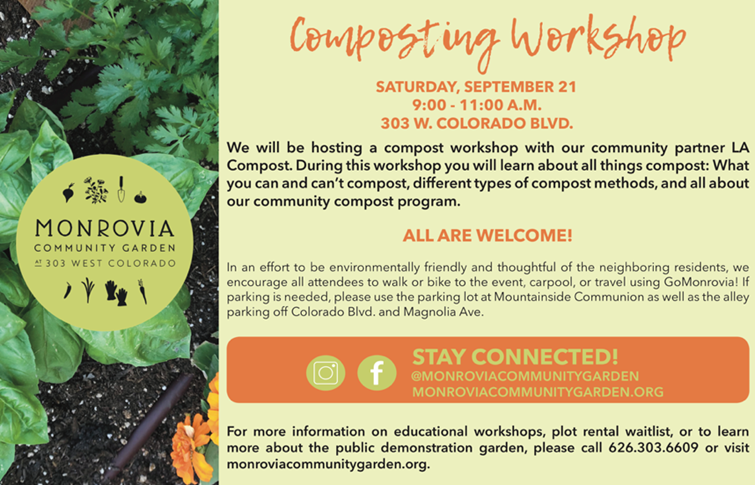 Composting Workshop- September 21