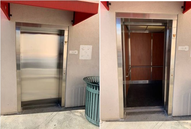 Colorado Commons Parking Structure Elevators Fixed