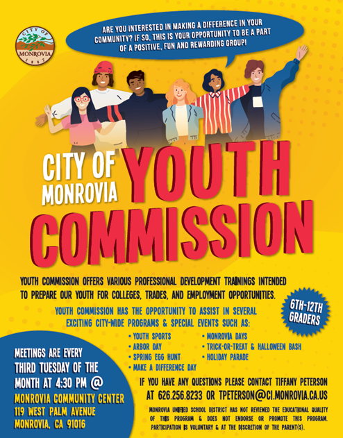 Youth Commission Flyer