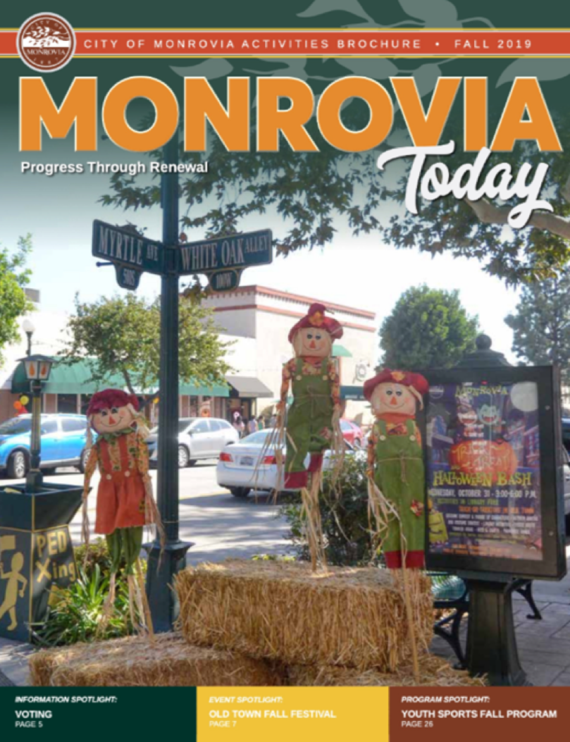 Monrovia Today - Fall 2019