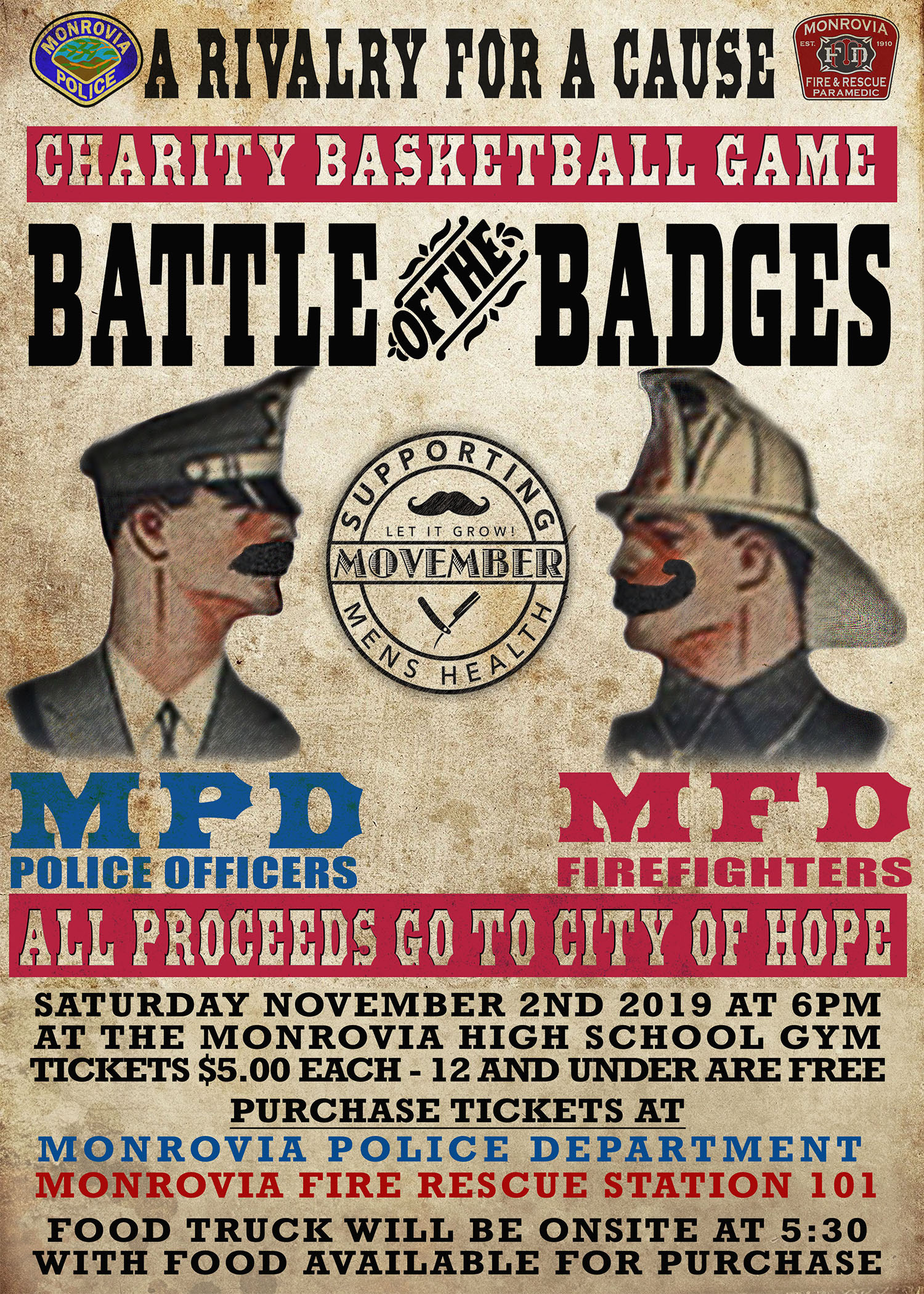 Battle of the Badge - Nov. 2