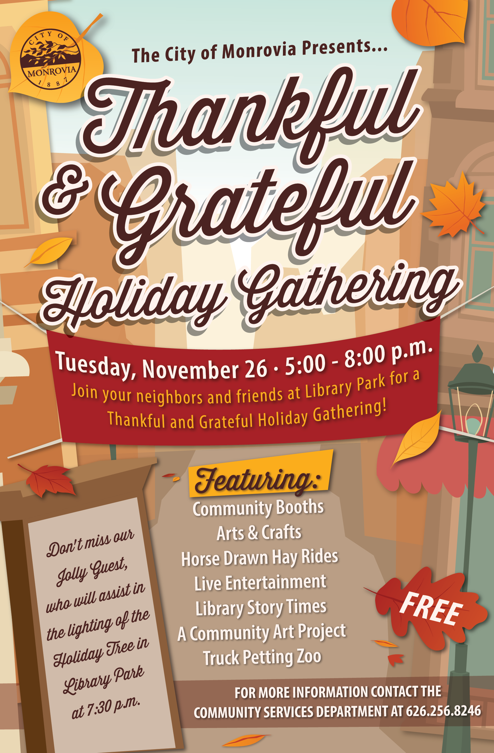 2019 Thankful & Grateful Holiday Gathering