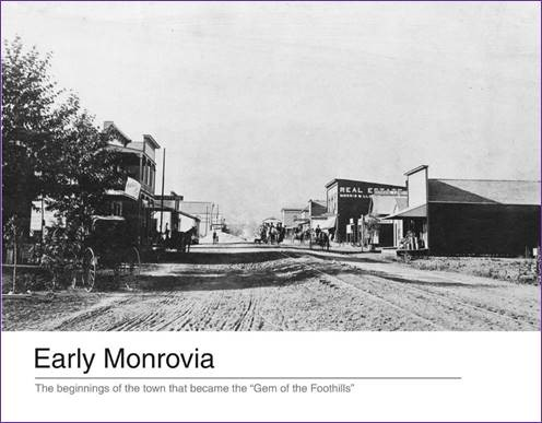 Early Monrovia Cover