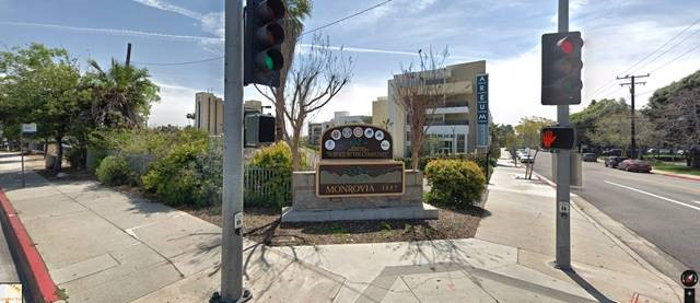 Monrovia Sign