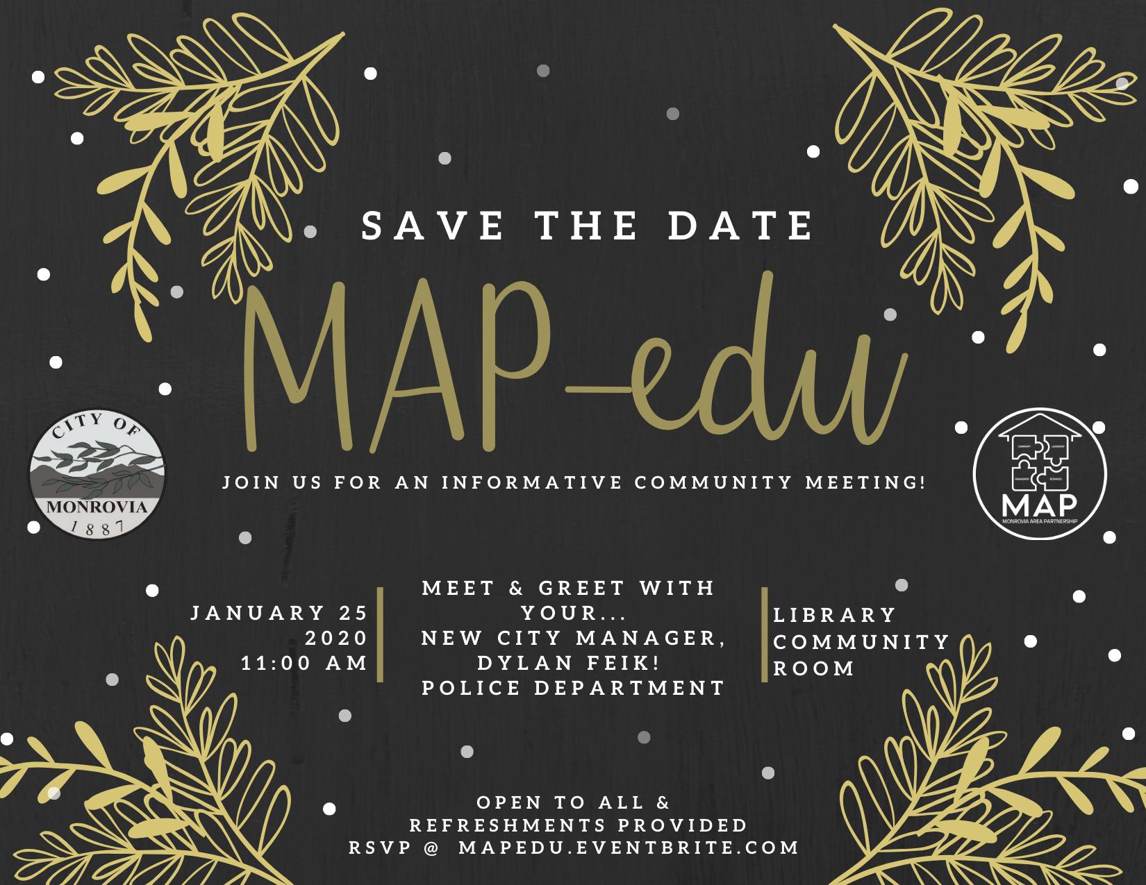 January MAP-edu